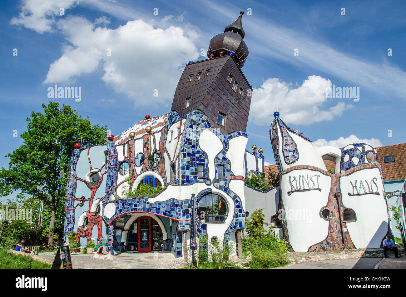 Architecture Meets Brewing Art Hundertwasser Building