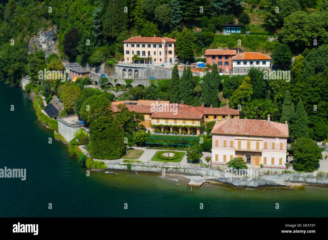 Exceptionnel Italie, Lombardie, lac de Come, Cernobbio, villa Pizzo (vue Stock  EF13