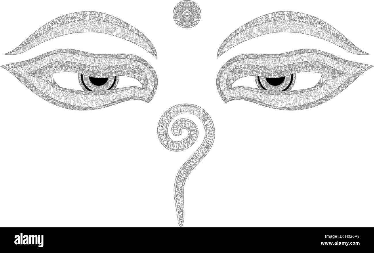 Buddha eyes nepal symbol of wisdom and enlightenment stock buddha eyes nepal symbol of wisdom and enlightenment biocorpaavc Images