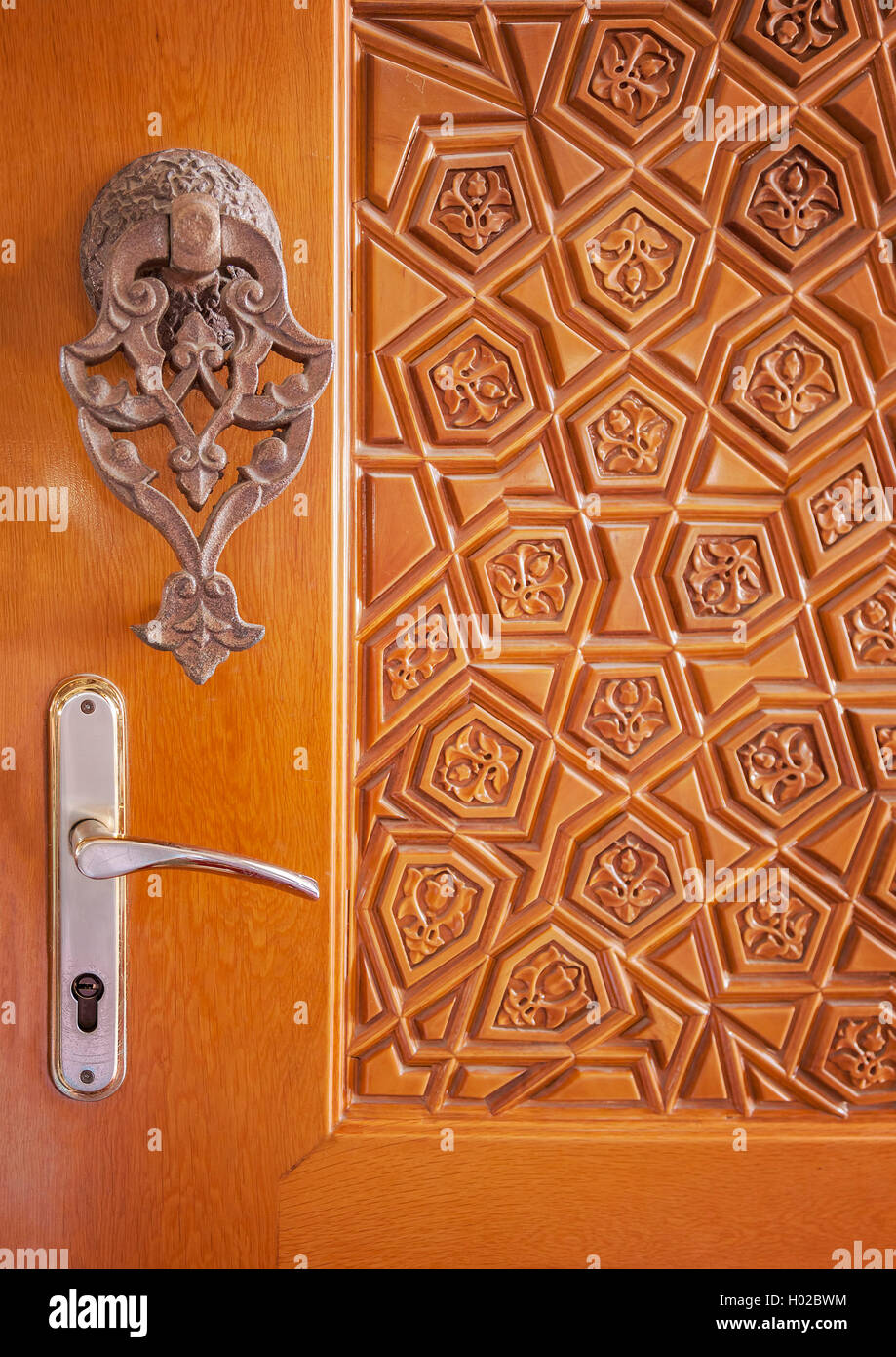 Image Of Ornate Mosque Door