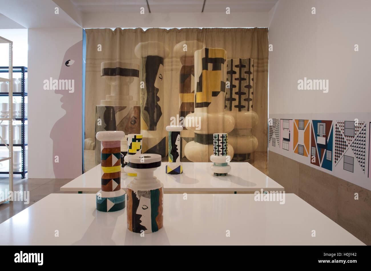 RIBA Architecture Gallery London UK 21st September 2016 Stock