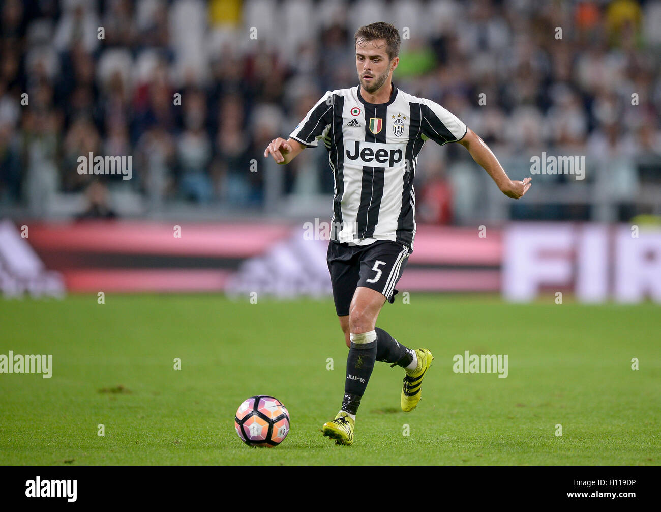 Turin Italy 21st Sep 2016 Miralem Pjanic of Juventus FC in