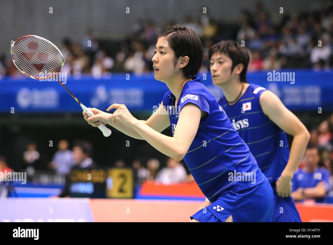 Tokyo Metropolitan Gymnasium Tokyo Japan 22nd Sep 2016 Kenta