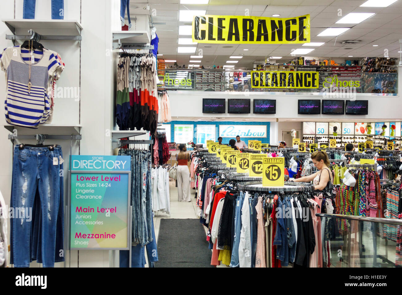 Famous Junior Clothing Stores