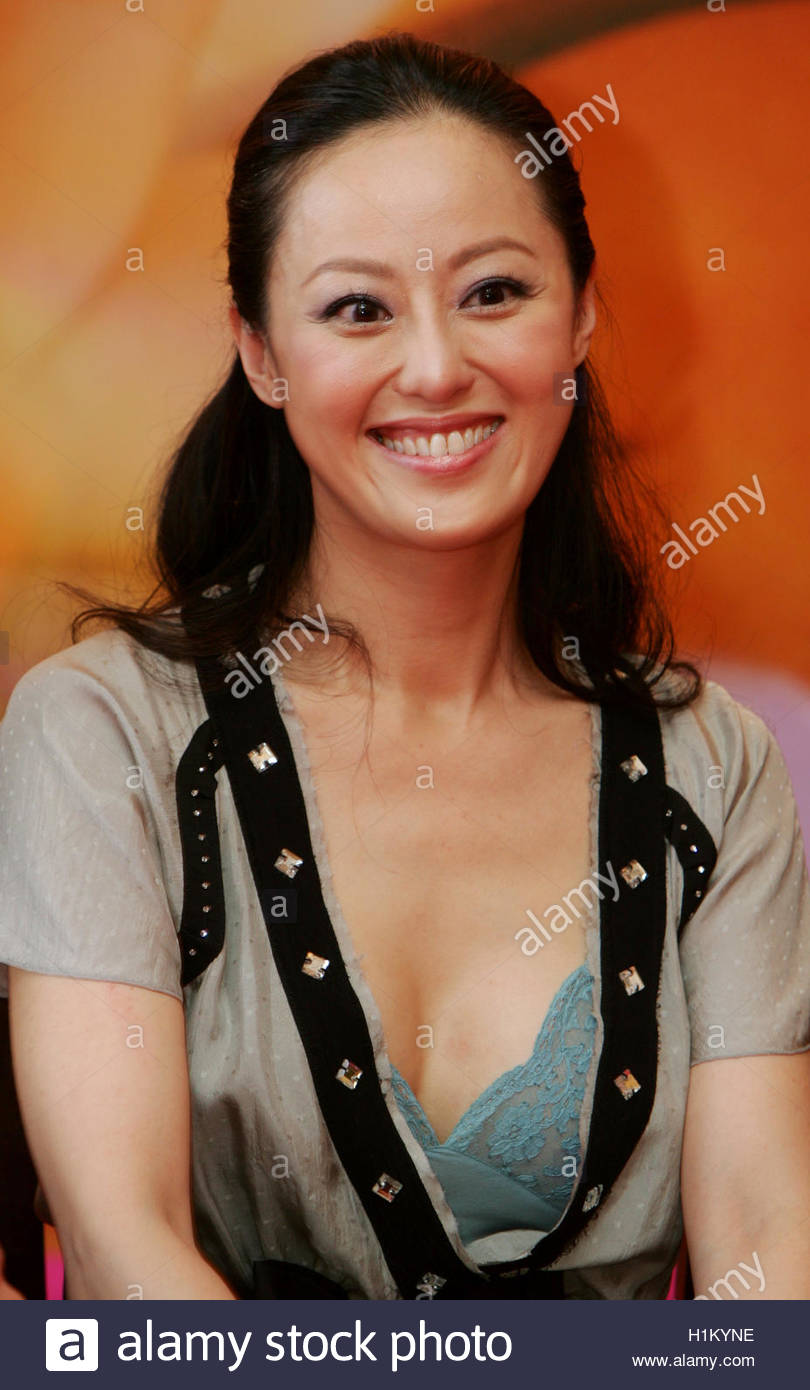 hong kong actress teresa cheung poses at a news conference to hong kong actress teresa cheung poses at a news conference to promote her new film colour blossoms in hong kong hong kong actress teresa cheung poses at