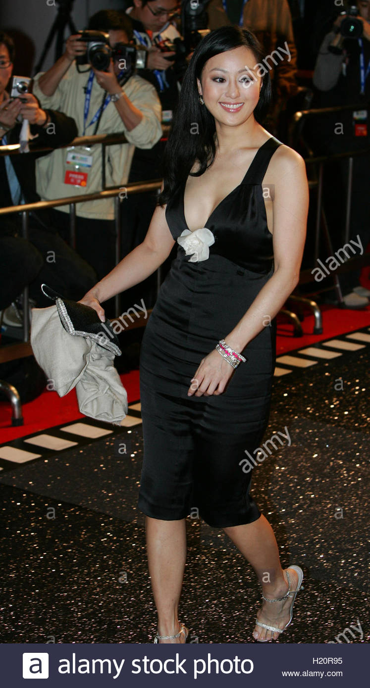 hong kong actress teresa cheung attends the opening ceremony of hong kong actress teresa cheung attends the opening ceremony of entertainment expo in hong kong 21 2005 entertainment expo is the first mega