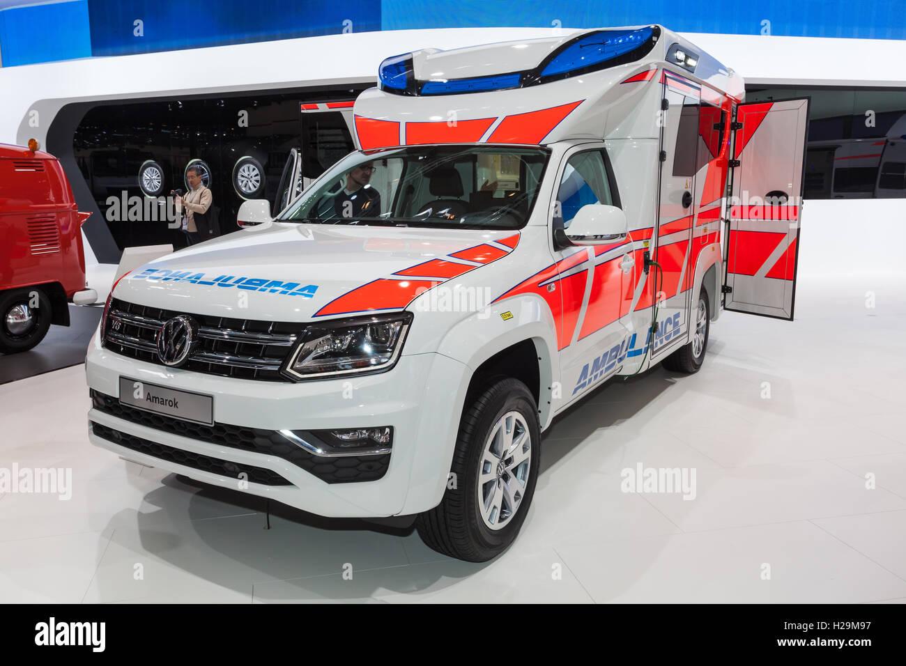 new volkswagen amarok ambulance car stock photo royalty free image 121915395 alamy. Black Bedroom Furniture Sets. Home Design Ideas