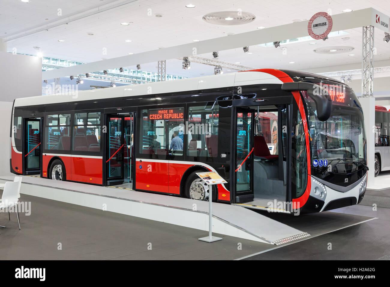 Czechpany Sor Electric Bus  Stock Image