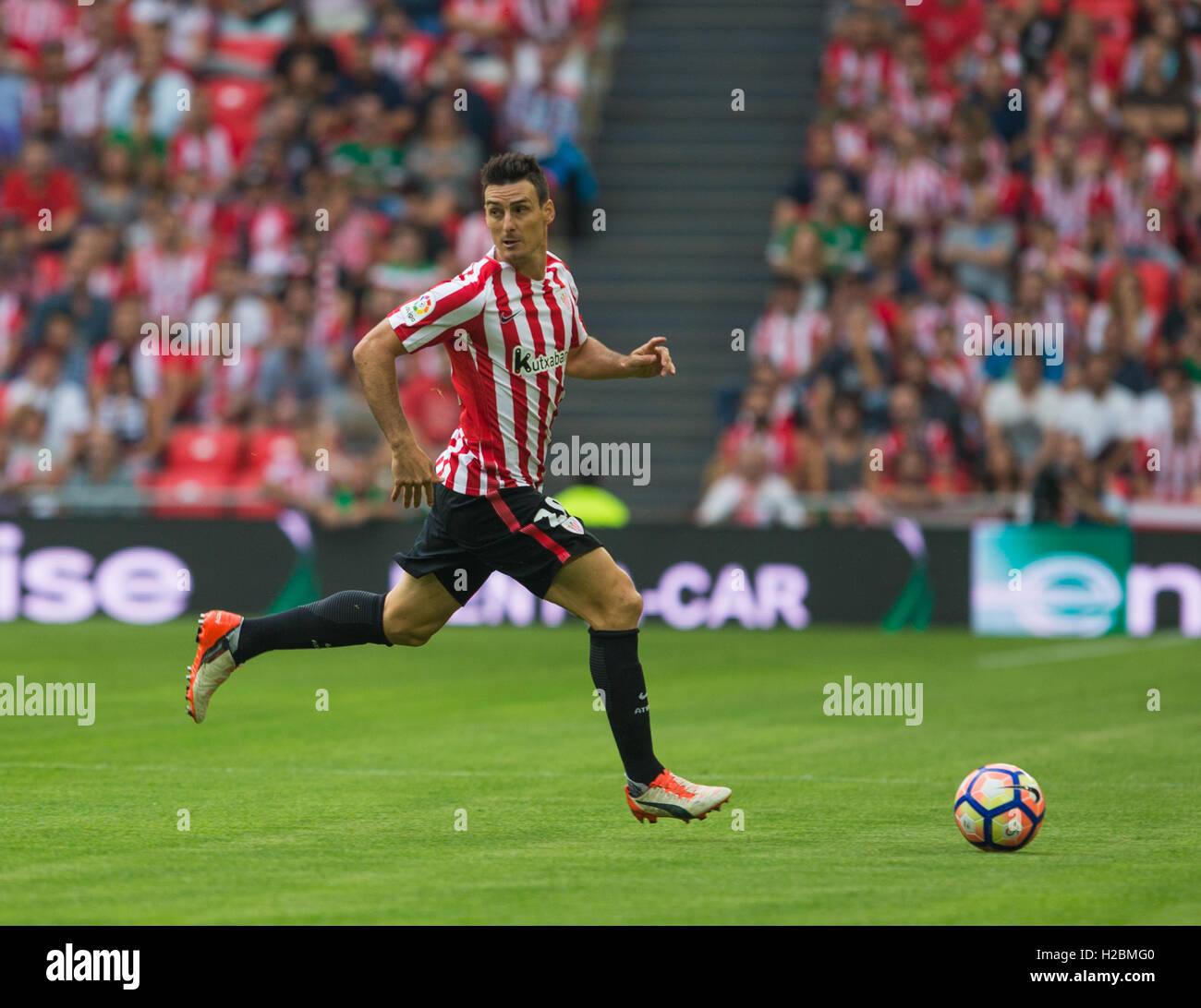 20 Aritz Aduriz Match day 6 game of la Liga Santander 2016 2017
