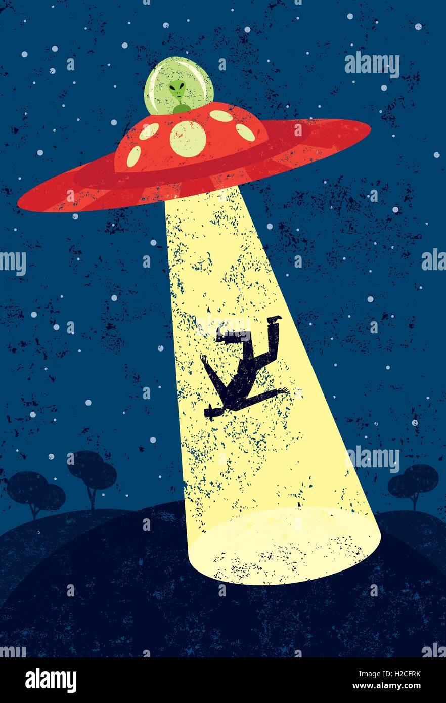 Alien abduction poster - UFO Alien Abduction - Aliens