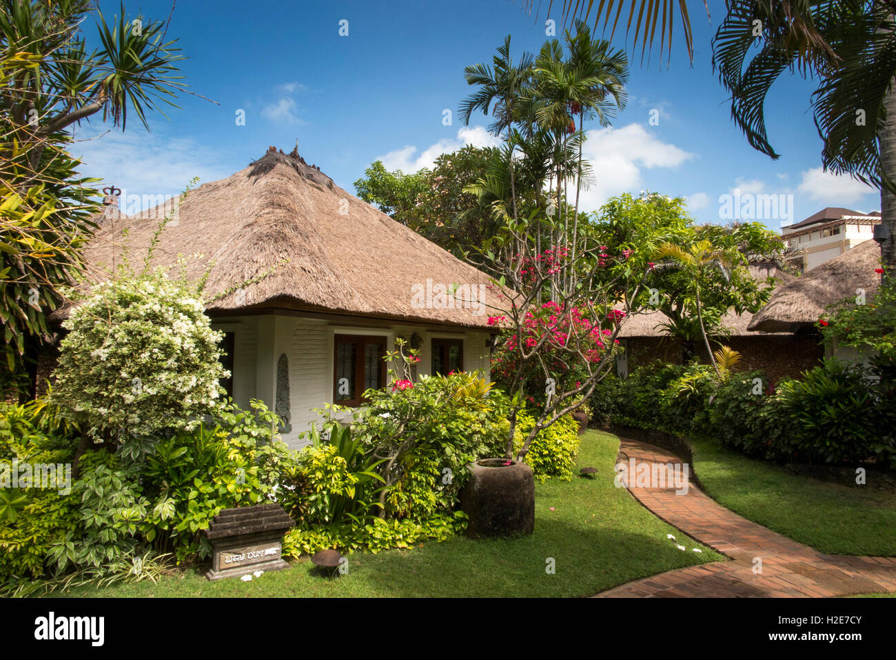 Indonesia Bali Kuta Poppies Gang 1 Cottages Tourist Cottage In Garden