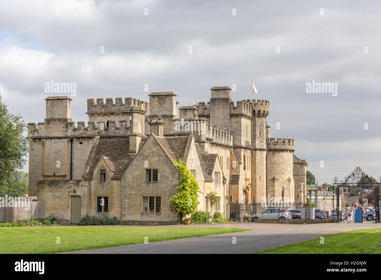 Cecily Hill Barracks At The Entrance To Cirencester Park Gloucestershire England UK