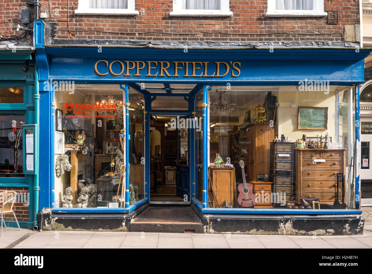 Secondhand Furniture copperfield's secondhand furniture shop, rochester, kent, uk stock
