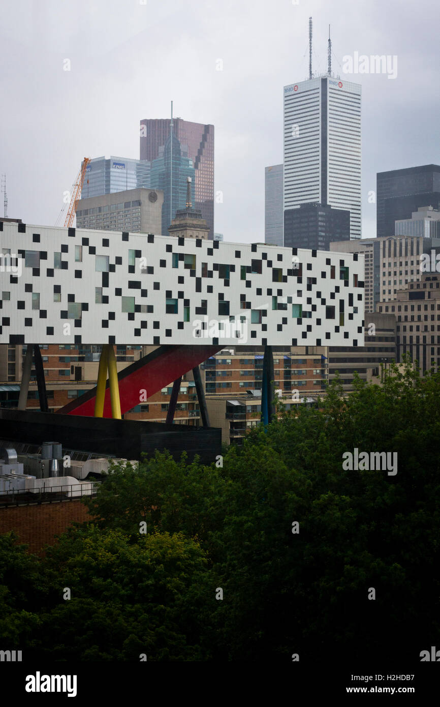 View Of The Ontario College Of Art And Design In Toronto Canada