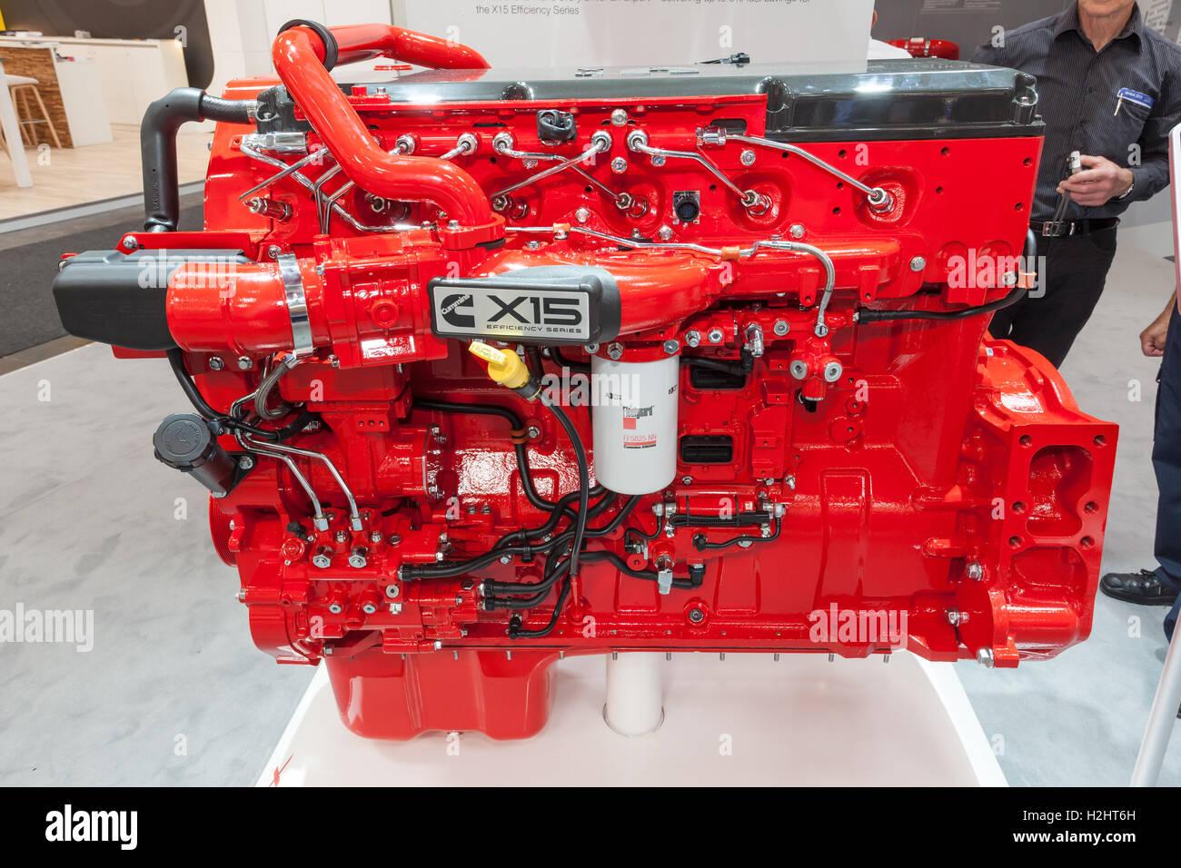 Cummins X15 Efficiency Series heavy duty diesel engine ...