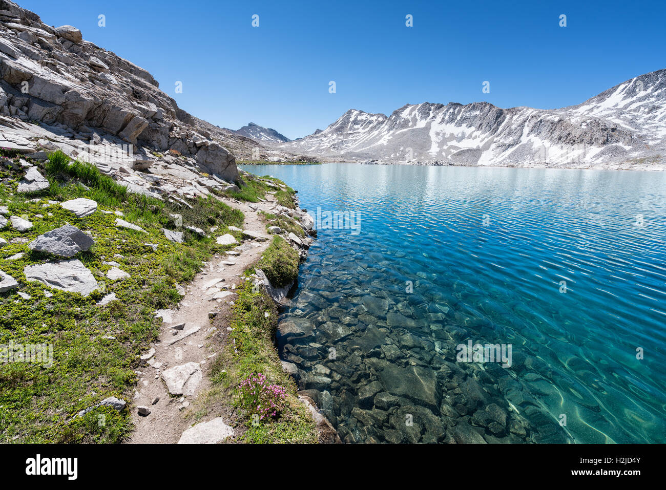 Sierra Nevada Ca: Wanda Lake, Sierra Nevada Mountains, California, United