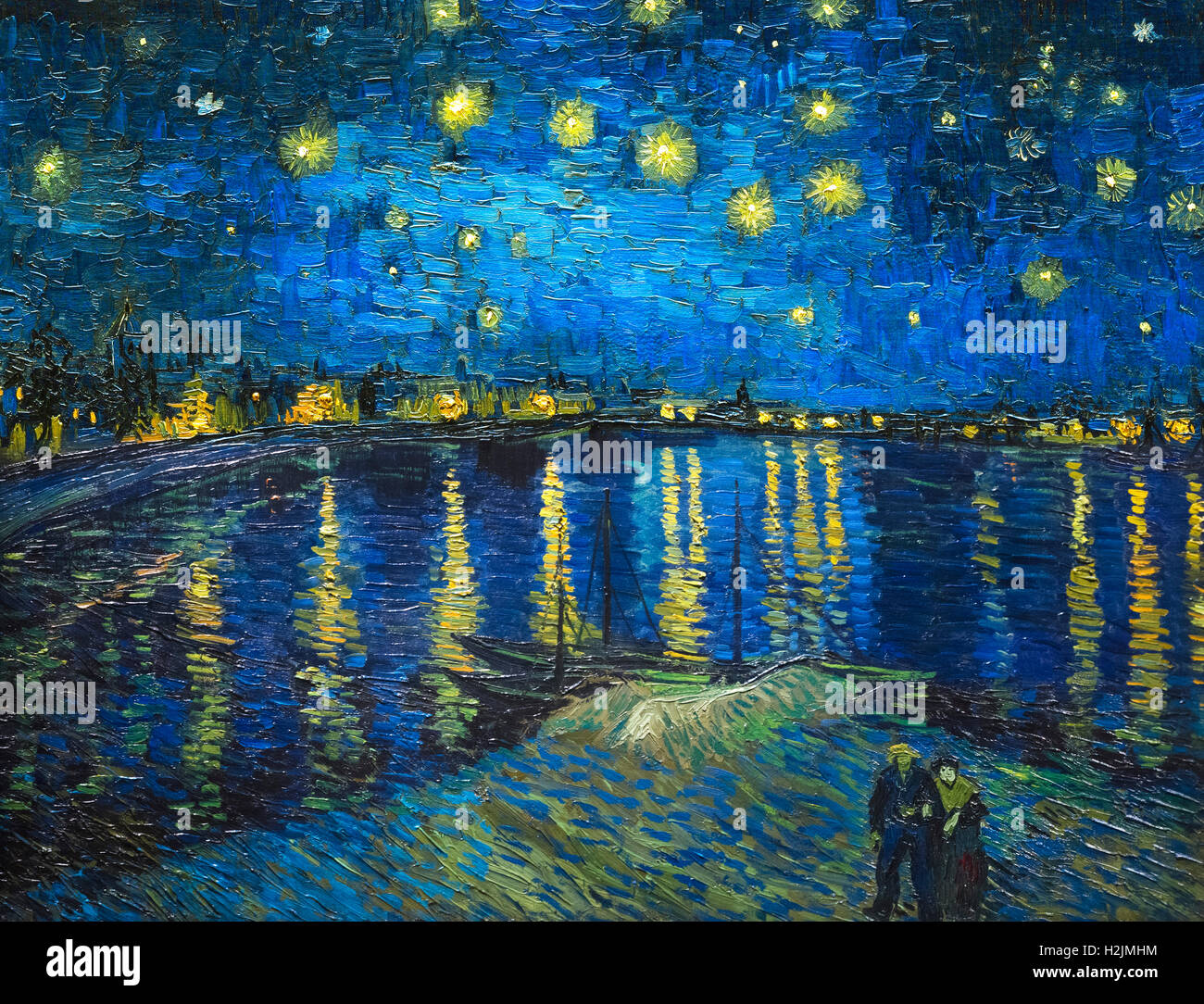 van gogh starry night la nuit toil e by vincent van gogh stock photo royalty free image. Black Bedroom Furniture Sets. Home Design Ideas