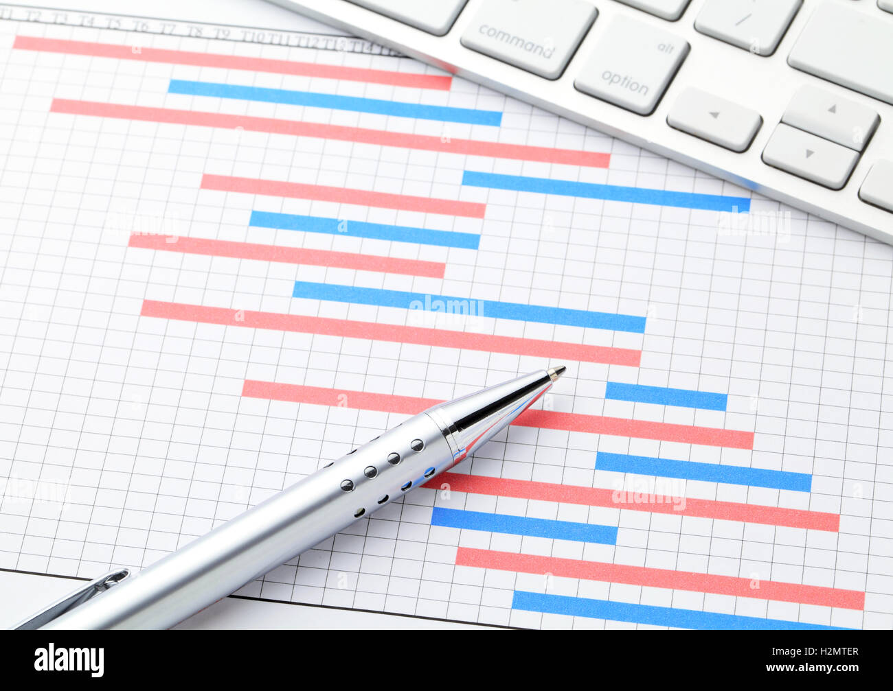 Project management with gantt chart stock photo royalty free project management with gantt chart nvjuhfo Image collections