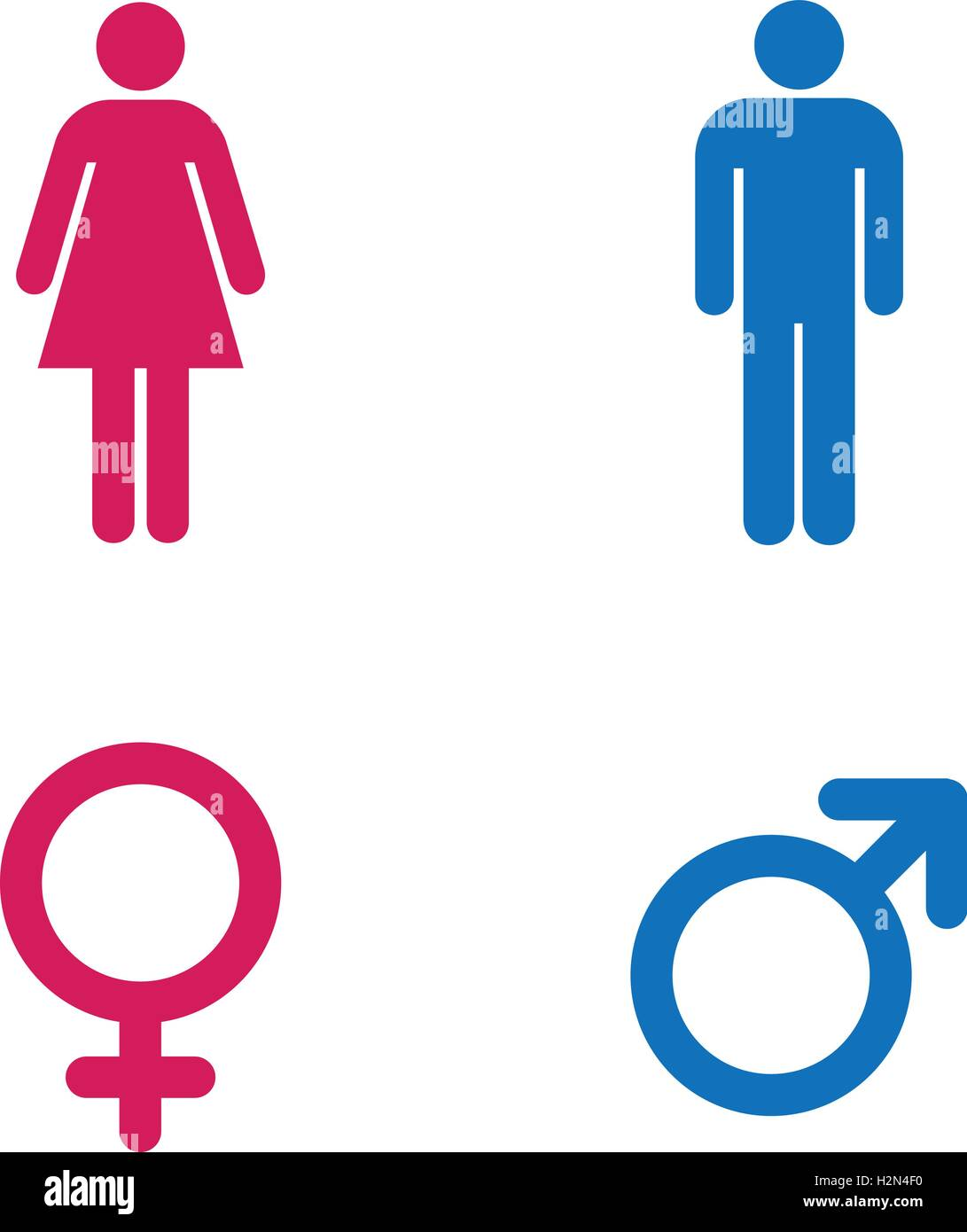 Restroom sign a man and a lady toilet sign people icon pink restroom sign a man and a lady toilet sign people icon pink female and blue male isolated symbols vector illustration buycottarizona