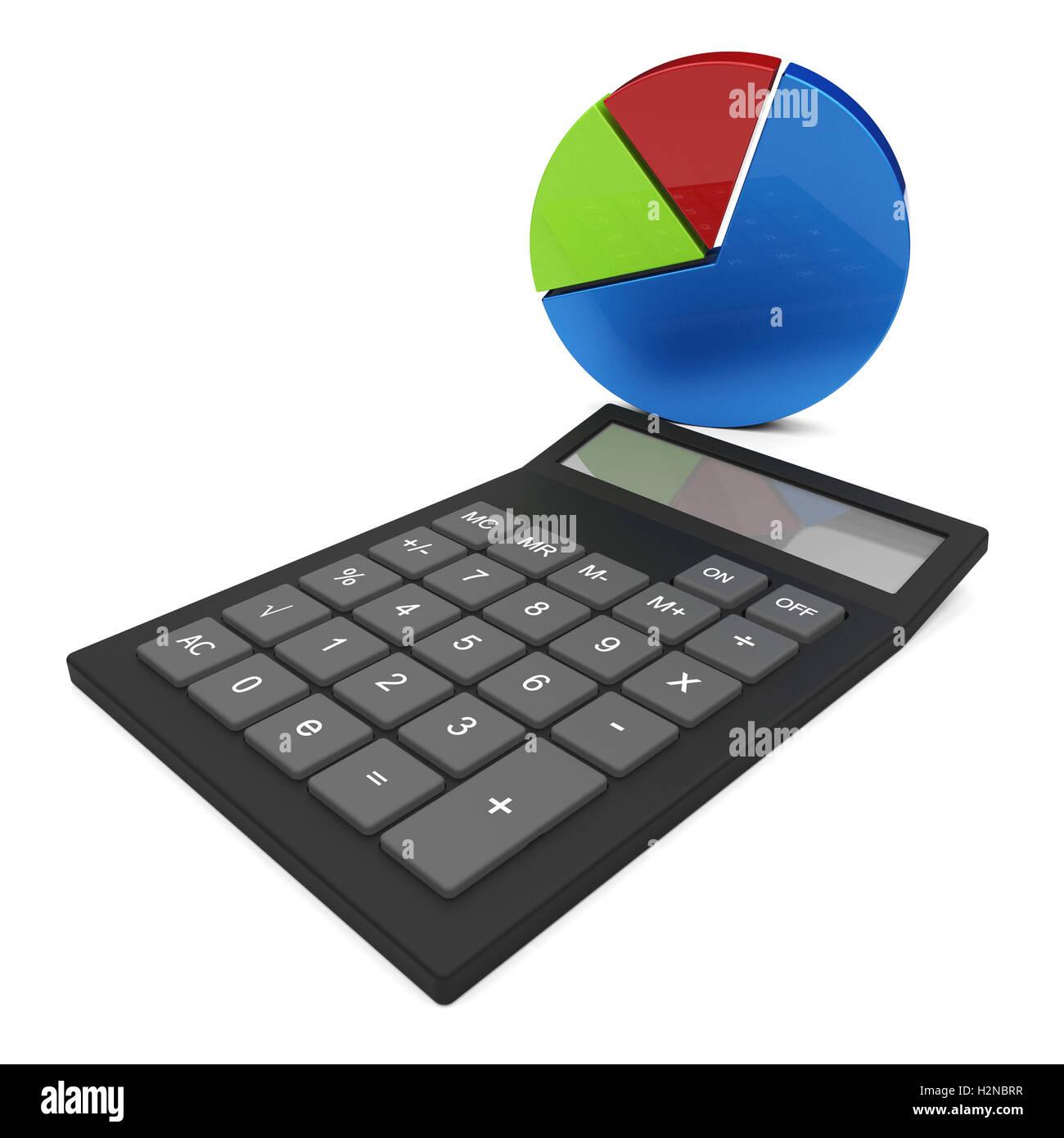 Pie chart calculation representing progress report and trend stock pie chart calculation representing progress report and trend nvjuhfo Choice Image
