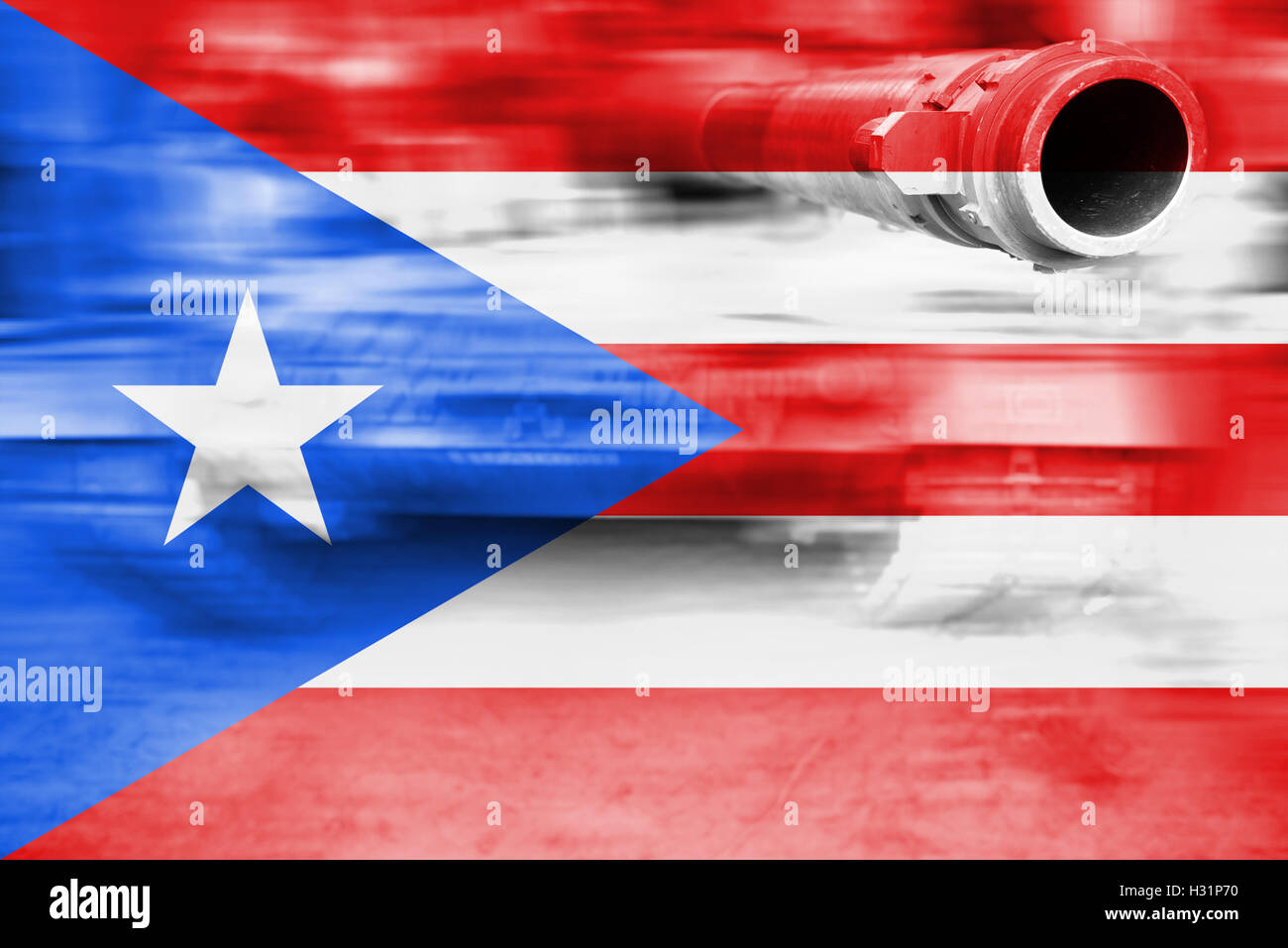 Military strength theme motion blur tank with puerto rico flag military strength theme motion blur tank with puerto rico flag biocorpaavc Images