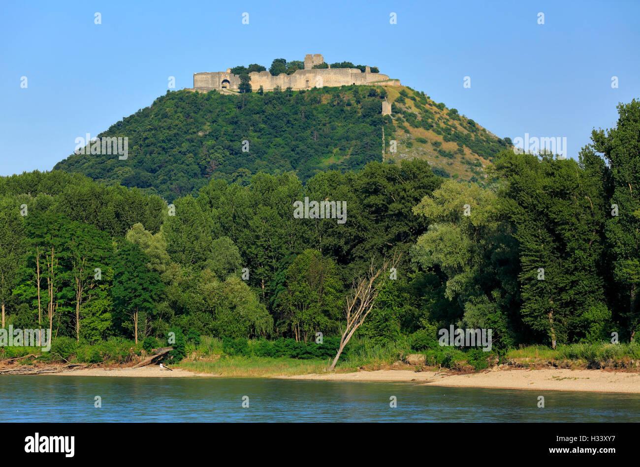 Burgruine Heimenburg auf dem Schlossberg in Hainburg an ...