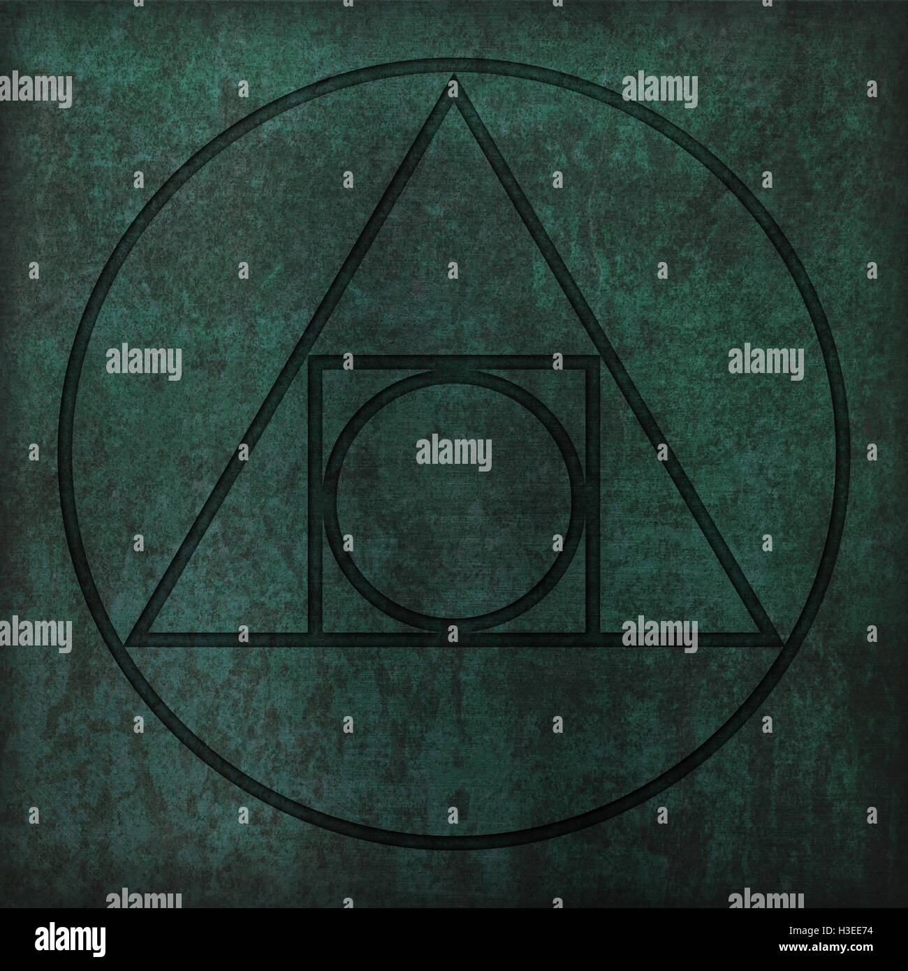 Alchemy symbol squaring the circle copper stock photo 122635048 alchemy symbol squaring the circle copper buycottarizona Image collections