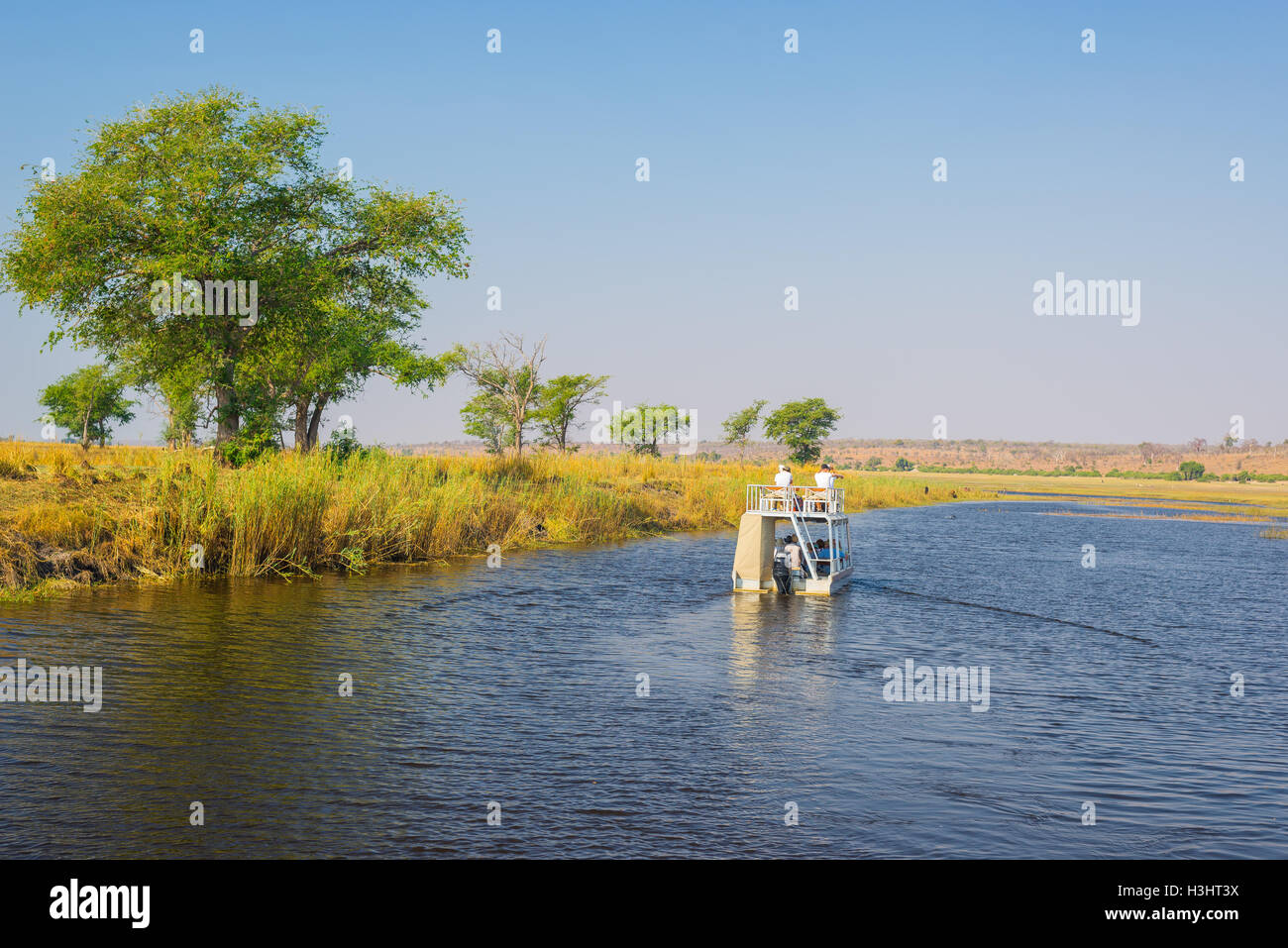 Boat Cruise And Wildlife Safari On Chobe River Namibia Botswana - Chobe river