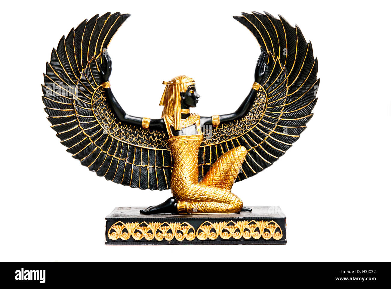 Maat or isis ancient egyptian goddess decoration replica stock maat or isis ancient egyptian goddess decoration replica biocorpaavc