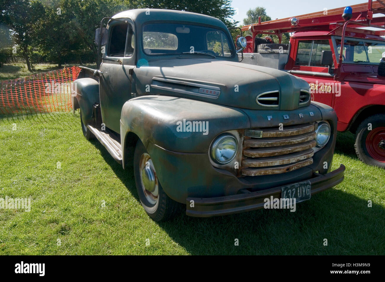 classic american ford pick up truck Stock Photo, Royalty Free ...