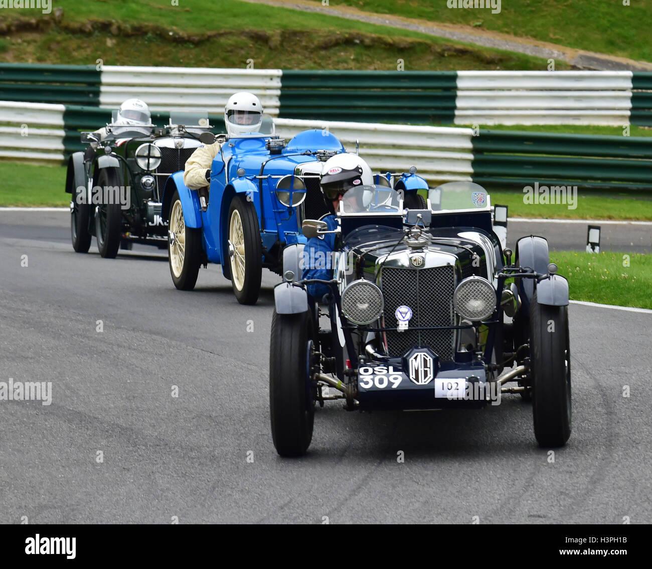 Michael Barber Mg Q Type Replica Triple M Register Vs Austin 7