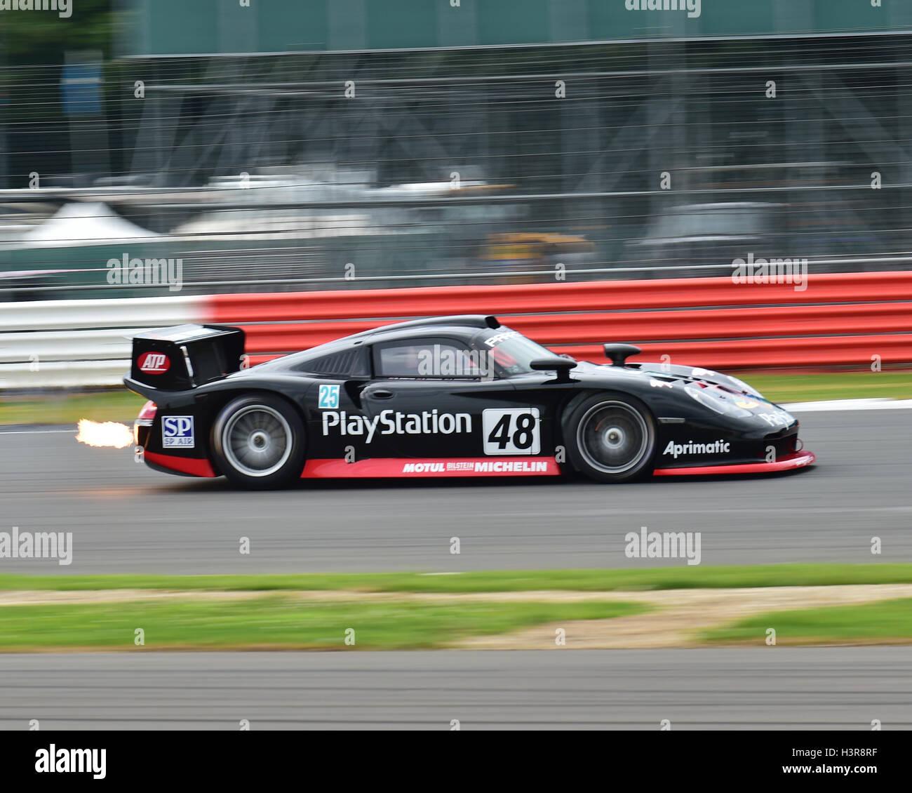 Mclaren Exhaust Flames Silverstone Classic S Cars