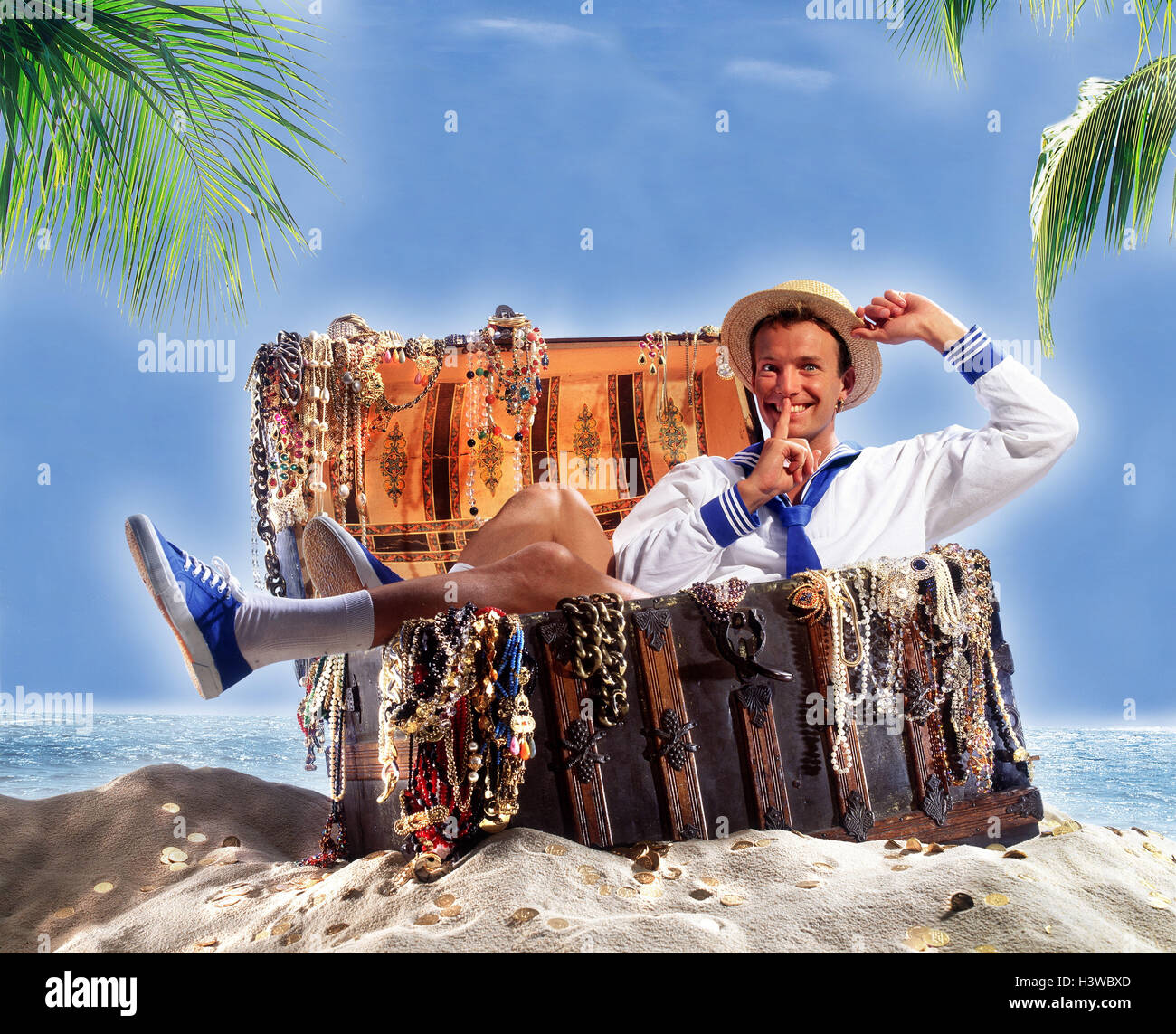 beach-sailor-treasure-chest-sit-gesture-