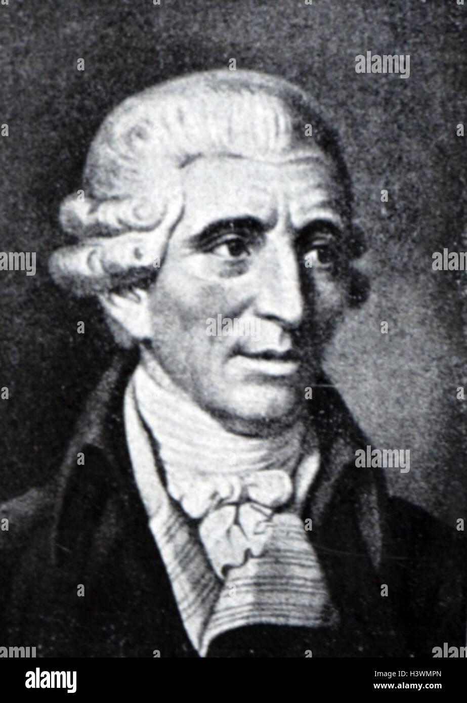 Portrait Of Joseph Haydn 1732 1809 An Austrian Composer The Classical Period