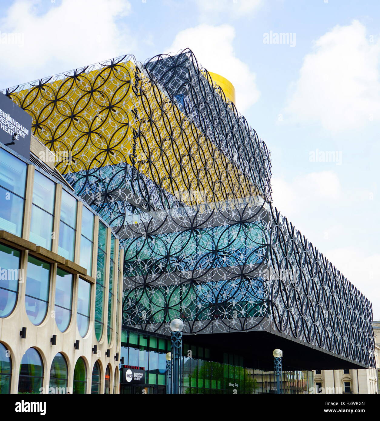 Post Modern High Tech Library Of Birmingham In England Designed By Architect Francine Houben 2013