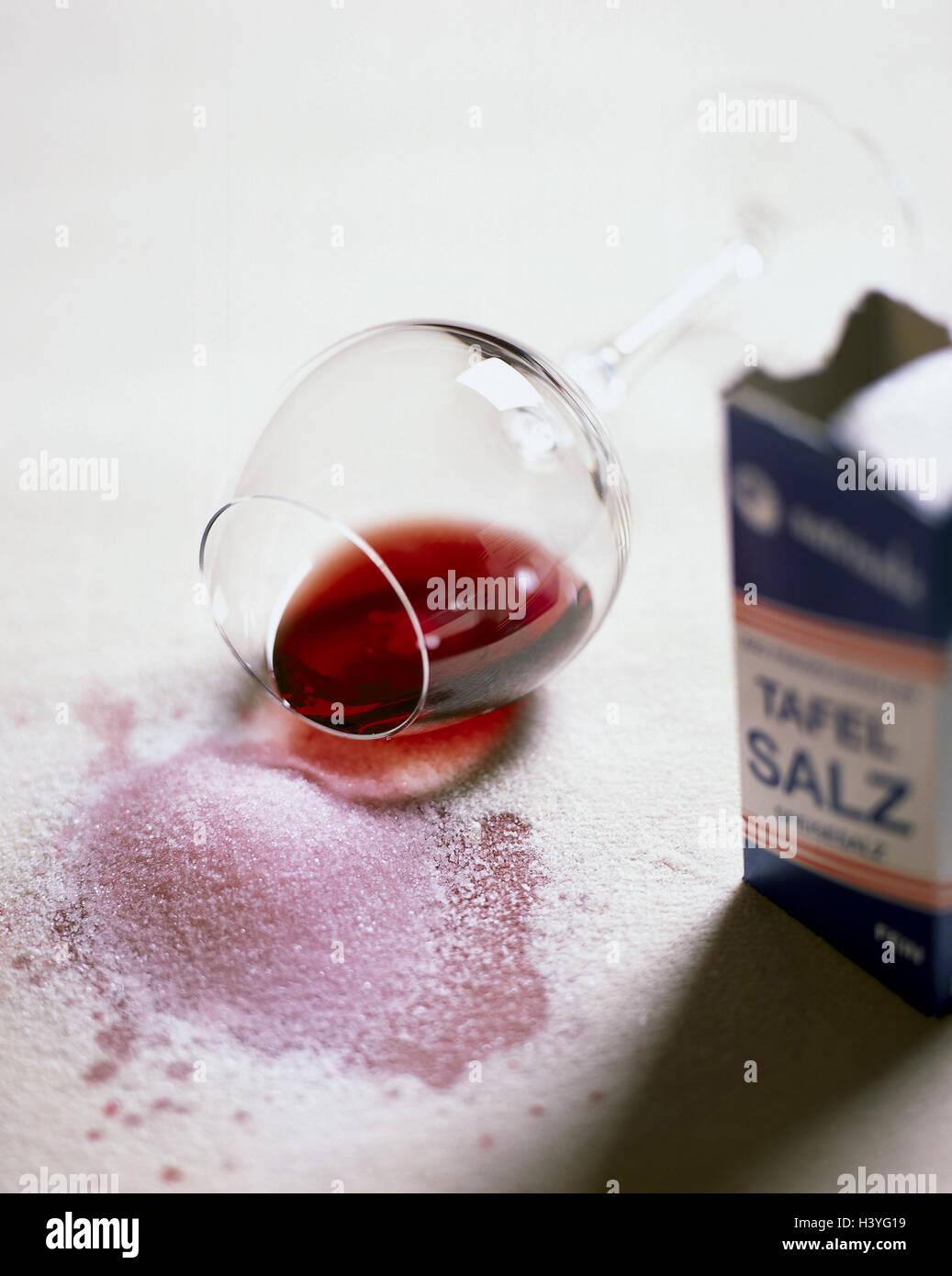 carpet glass wine stain salt still life material recording carpeted floor floor floor velour velvetpile carpet white wine red wine red wine