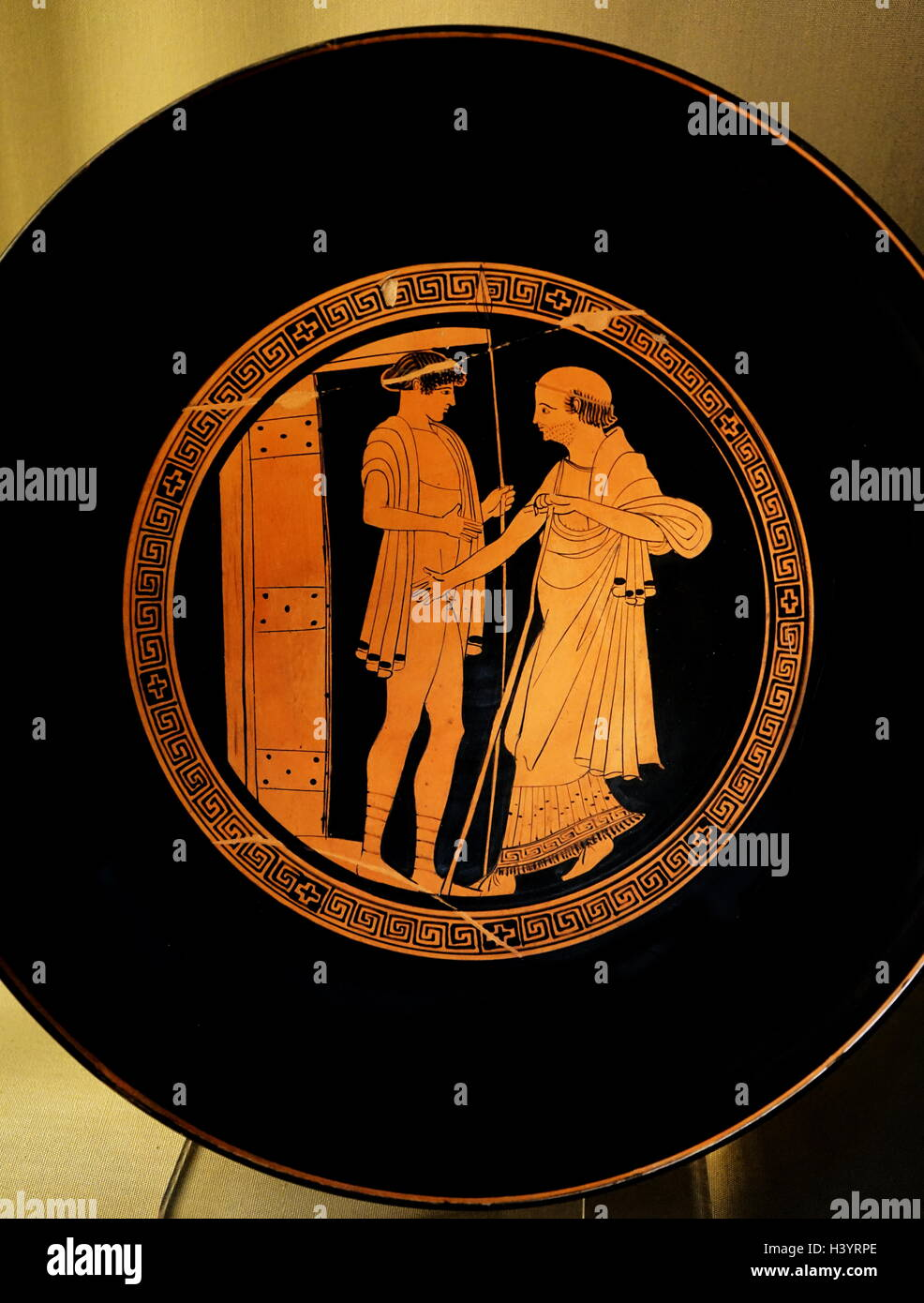 Red figure painting stock photos red figure painting stock plate decorated with red figure vase painting an important style of greek vase painting floridaeventfo Image collections