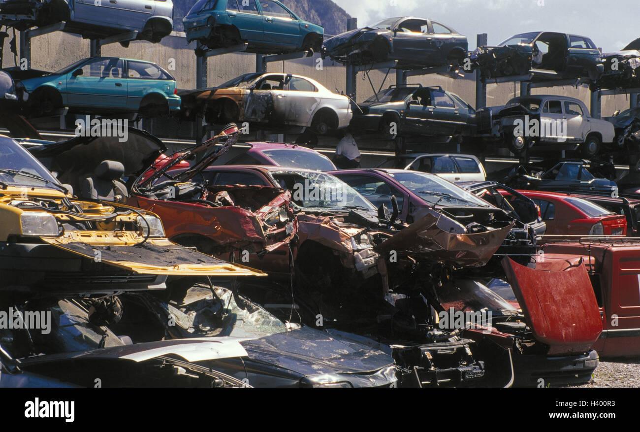 Scrap yard, scrap vehicle, autoscrap yard, junk yard, cars ...