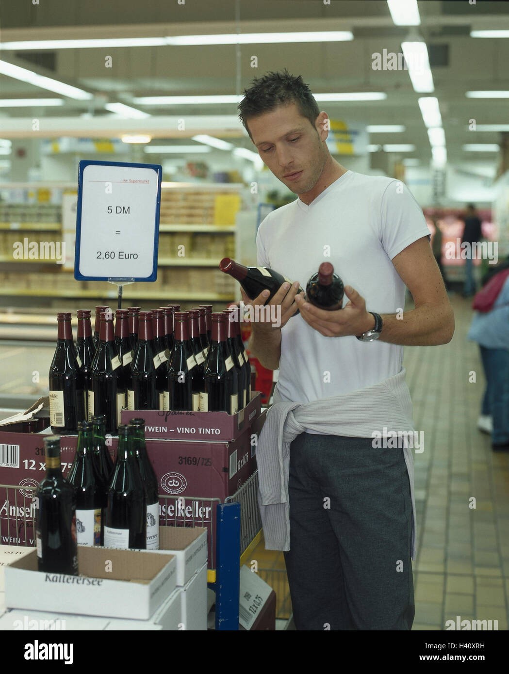 Select Quote Man Supermarket Red Wine Select Quote Currency Dm Euro