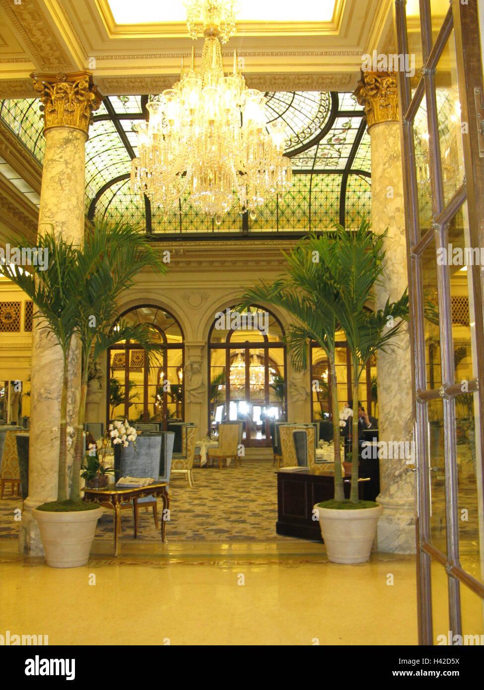 The USA, New York city, Manhattan, plaza Hotel, Russian Tea Room ...