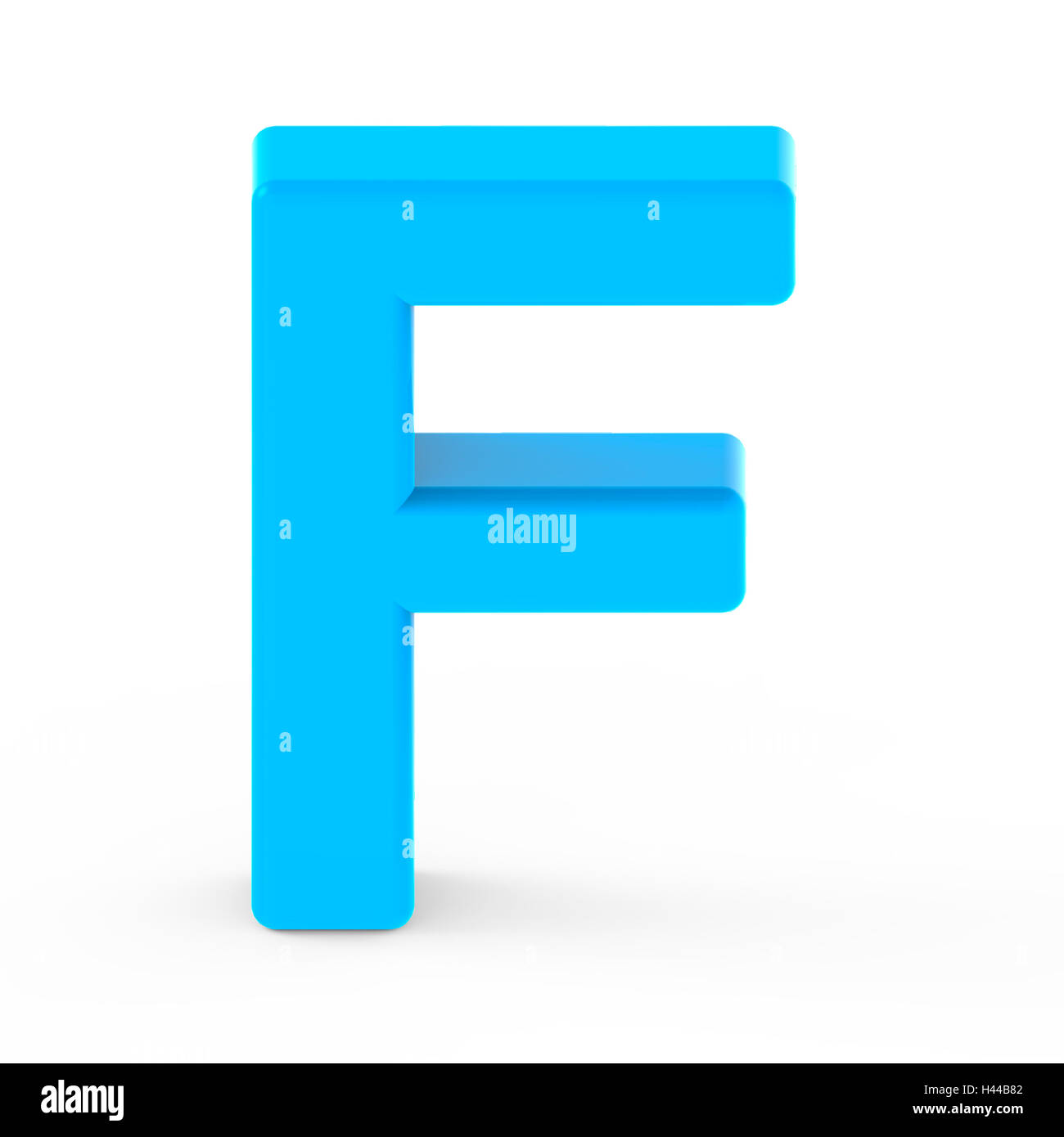 LettersMarket - 3D Gold Letter F, isolated on a white background ...