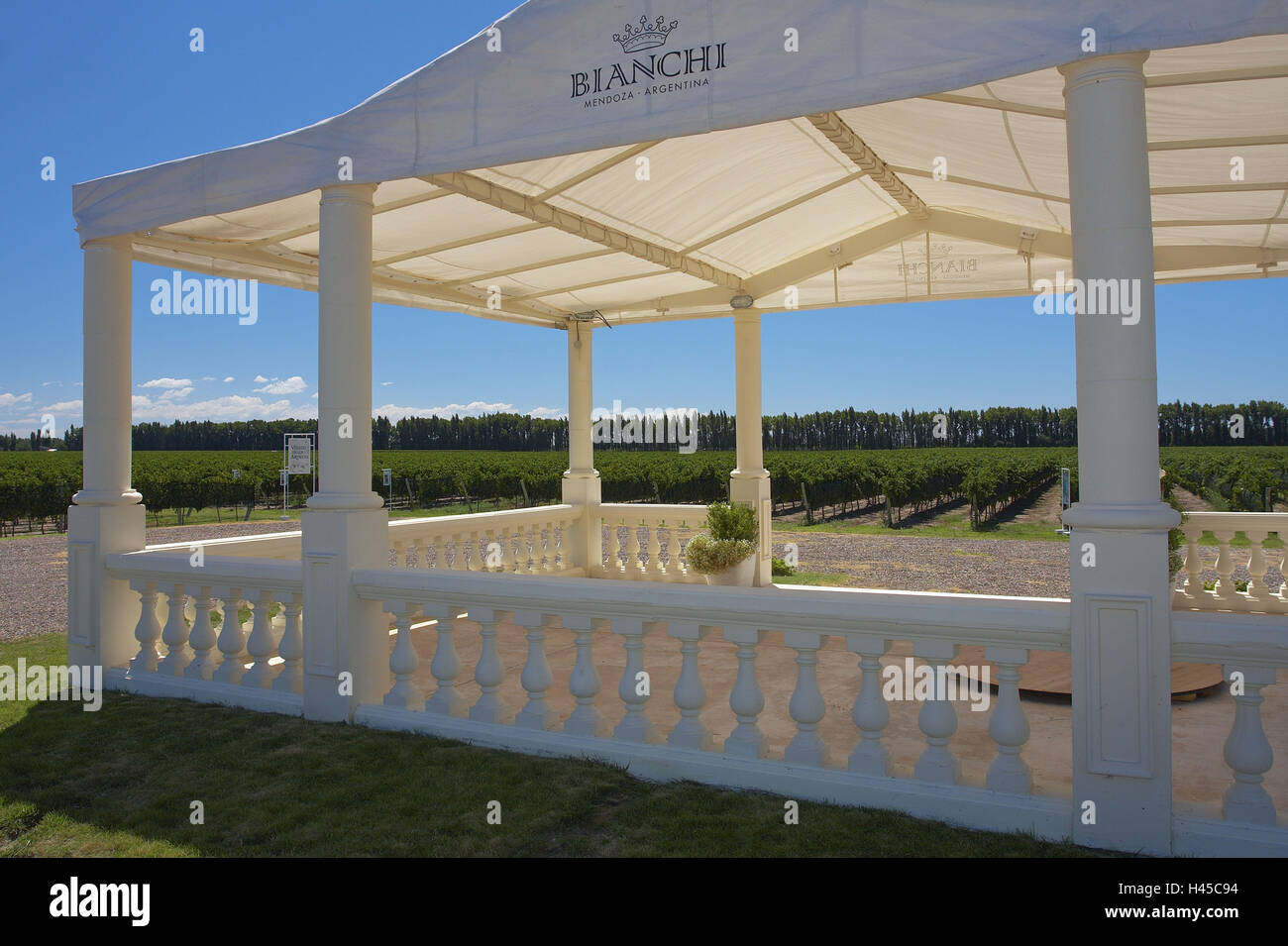 Argentina Mendoza San Rafael vineyard Bianchi fixed tent wine fields & Argentina Mendoza San Rafael vineyard Bianchi fixed tent wine ...