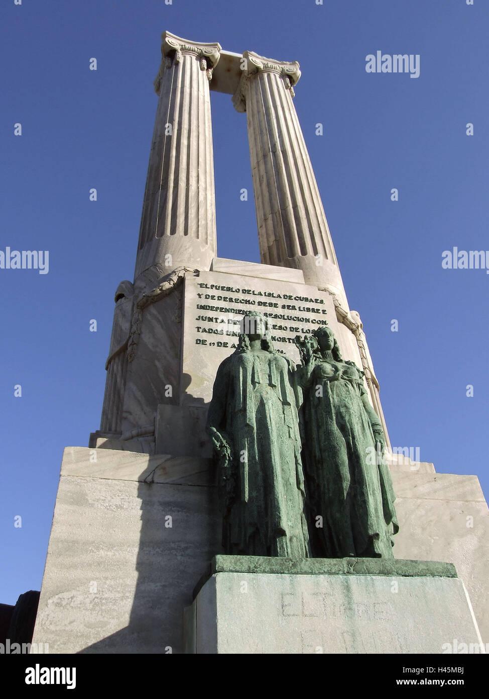 Cuba havana malecon monumento a read victimas del maine holiday destination