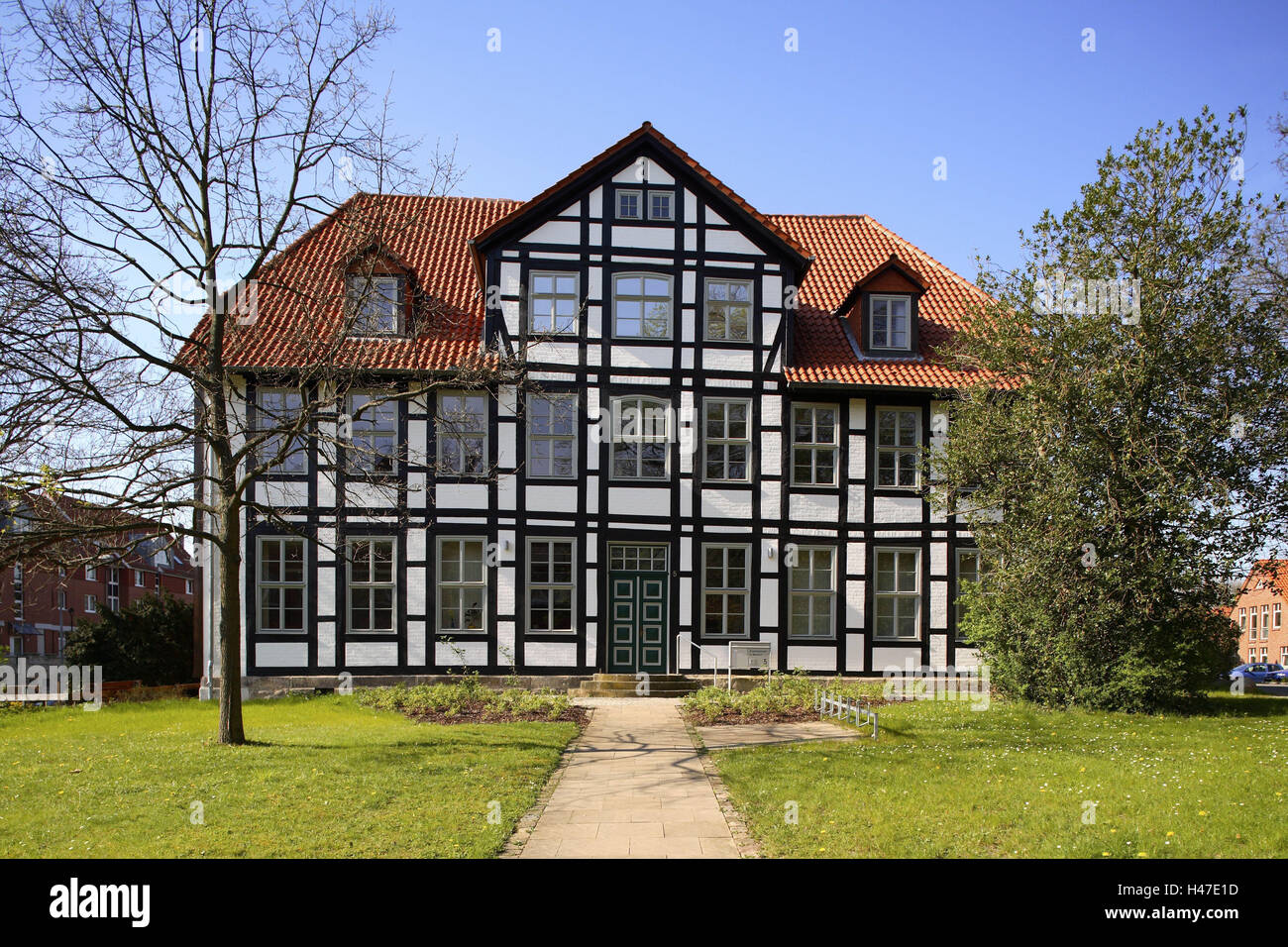 Home Wunstorf germany lower saxony wunstorf church district office stock photo