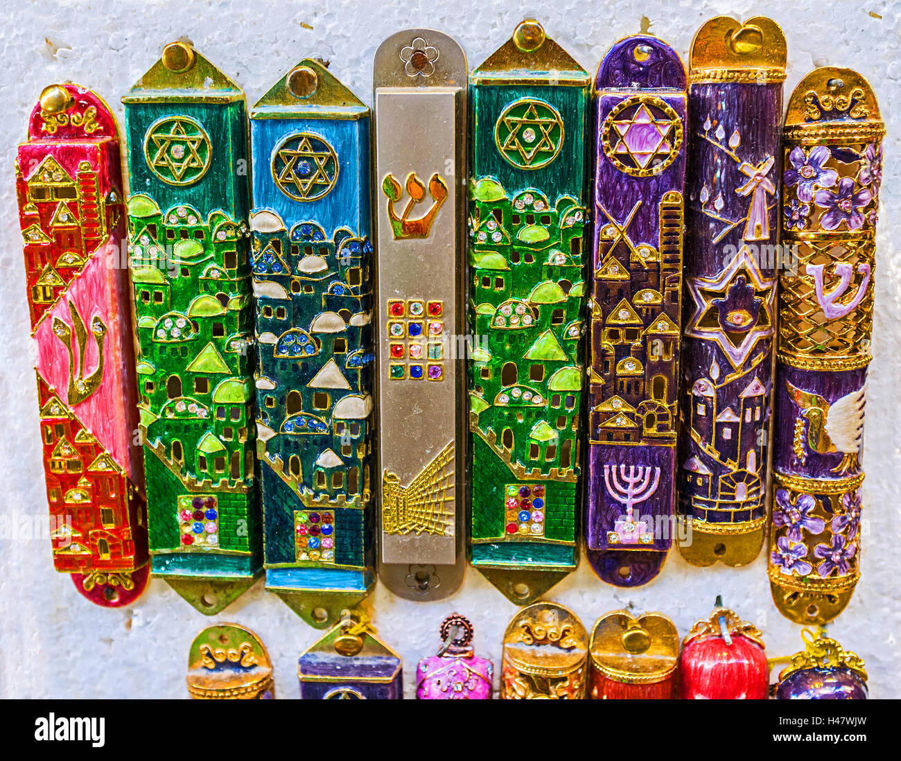 The Mezuzah Is Affixed To The Doorframe Of Homes In Jewish