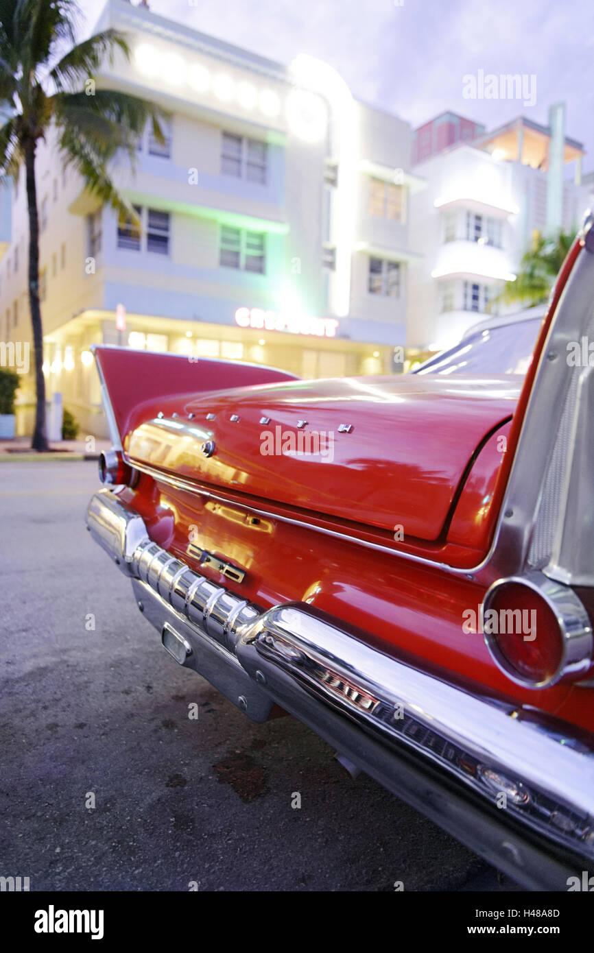 Plymouth Belvedere Convertible, year of manufacture 1957, the Stock ...