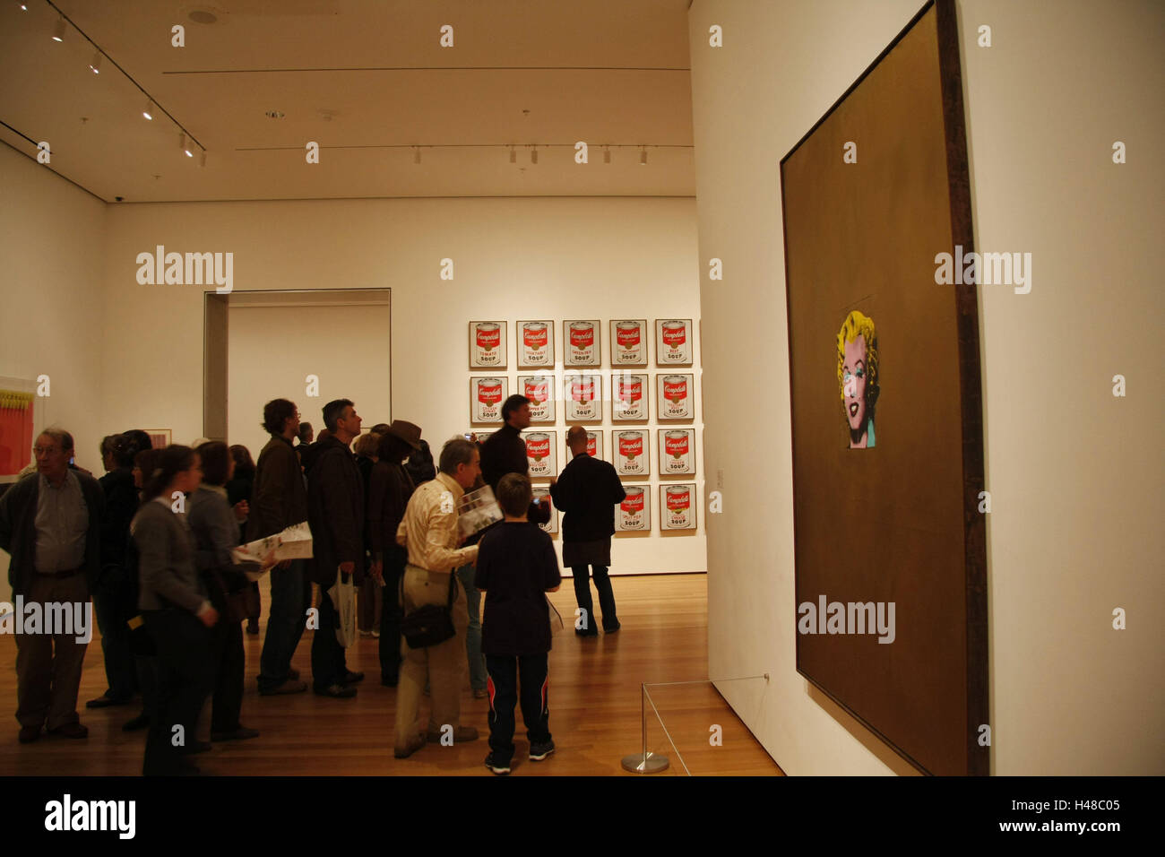 The USA New York City Museum Modern Art Exhibit Painting Stock - Number of art museums in usa