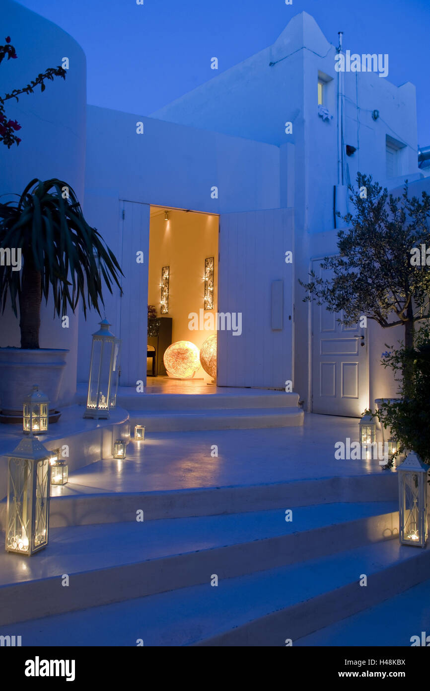 Greece the cyclades mykonos mykonos town chora for Modern house quintet chora