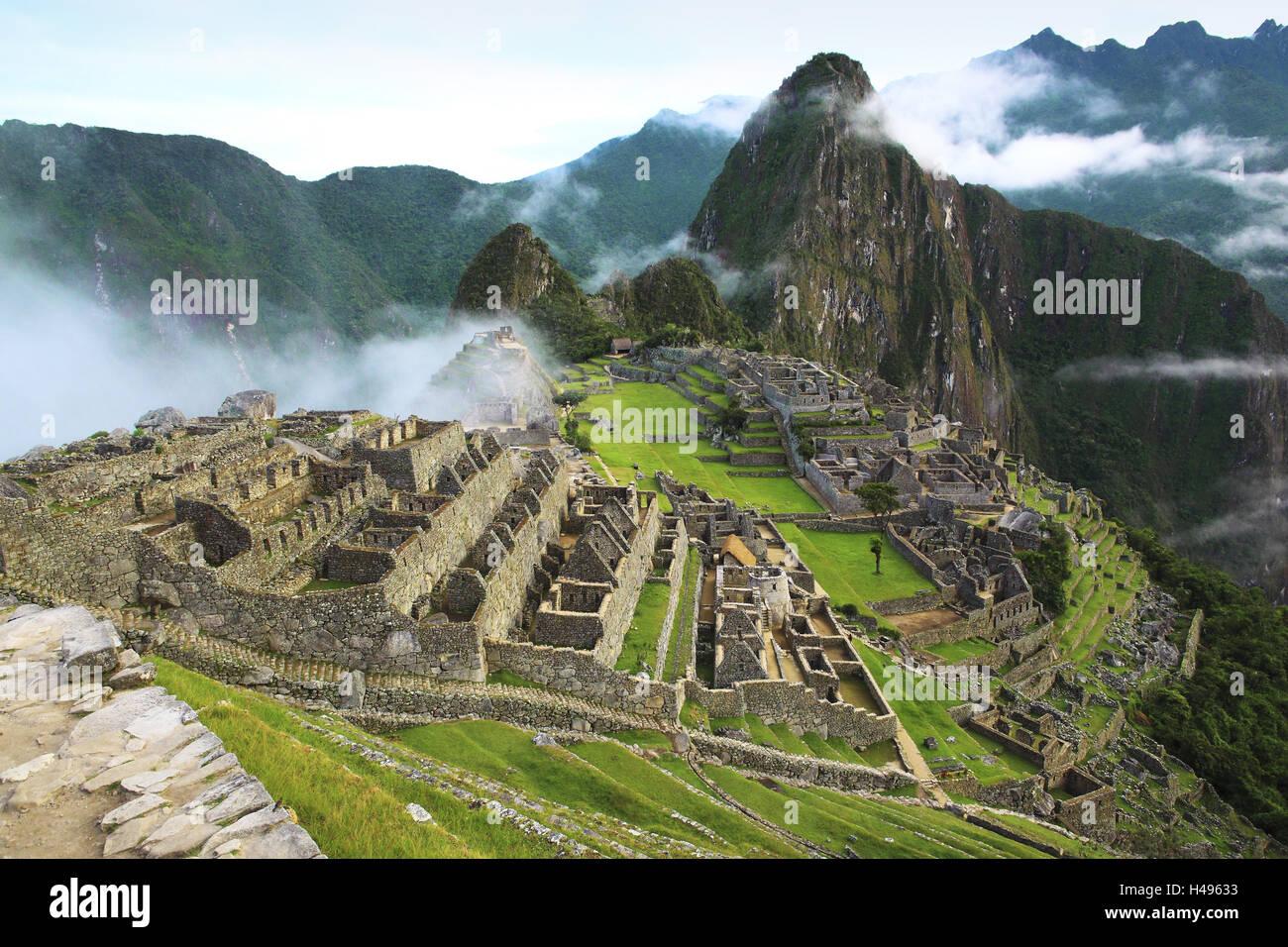 Modern 7 wonders of the world - Peru Machu Picchu 7 Wonders Of The World Of The Modern Age