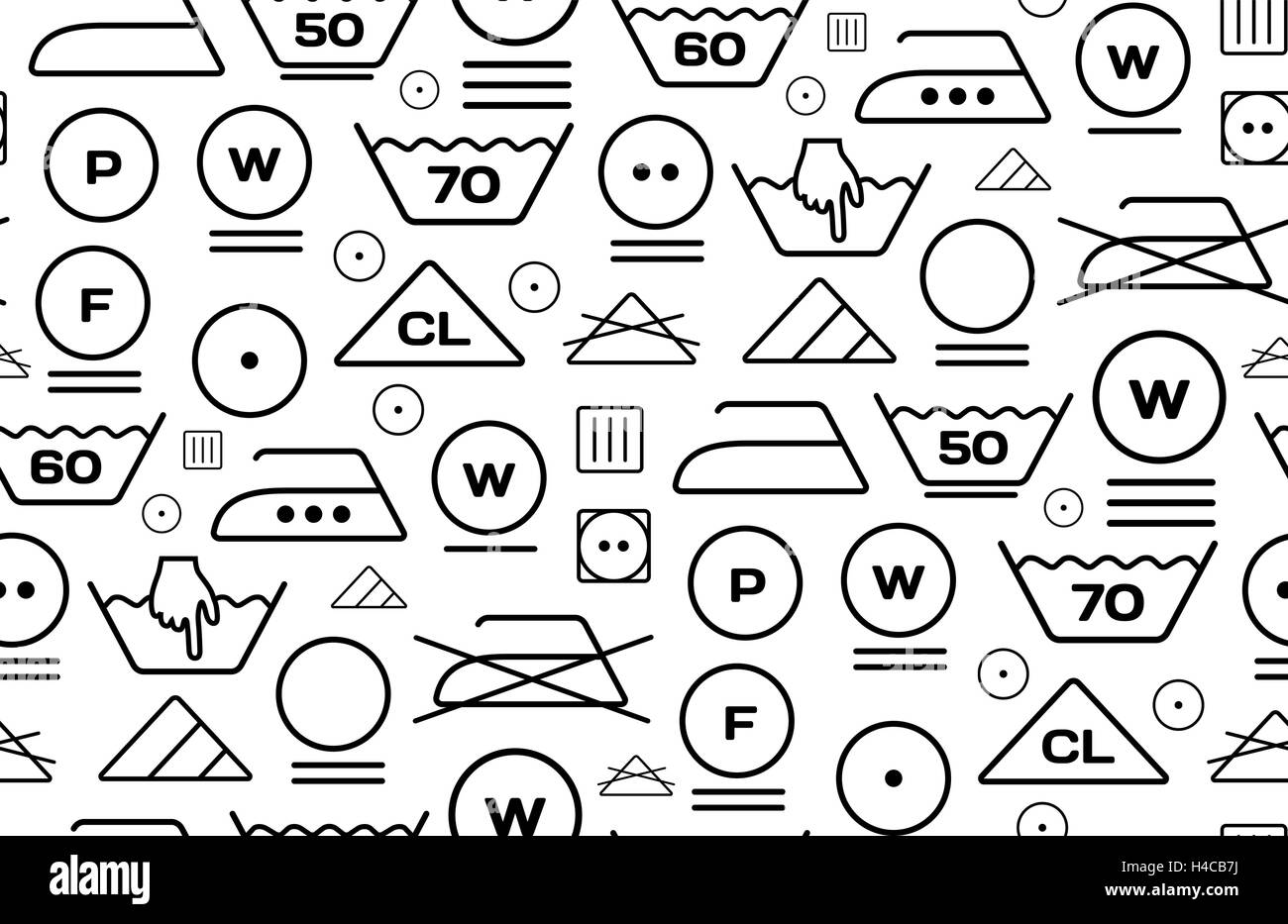 Pattern created from laundry washing symbols on a white background pattern created from laundry washing symbols on a white background buycottarizona Gallery